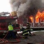 Incendio en Degañ